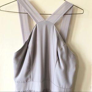 45f022e0db390 Lulu's Dresses | Lulus Air Of Romance Grey Maxi Dress Lulus | Poshmark